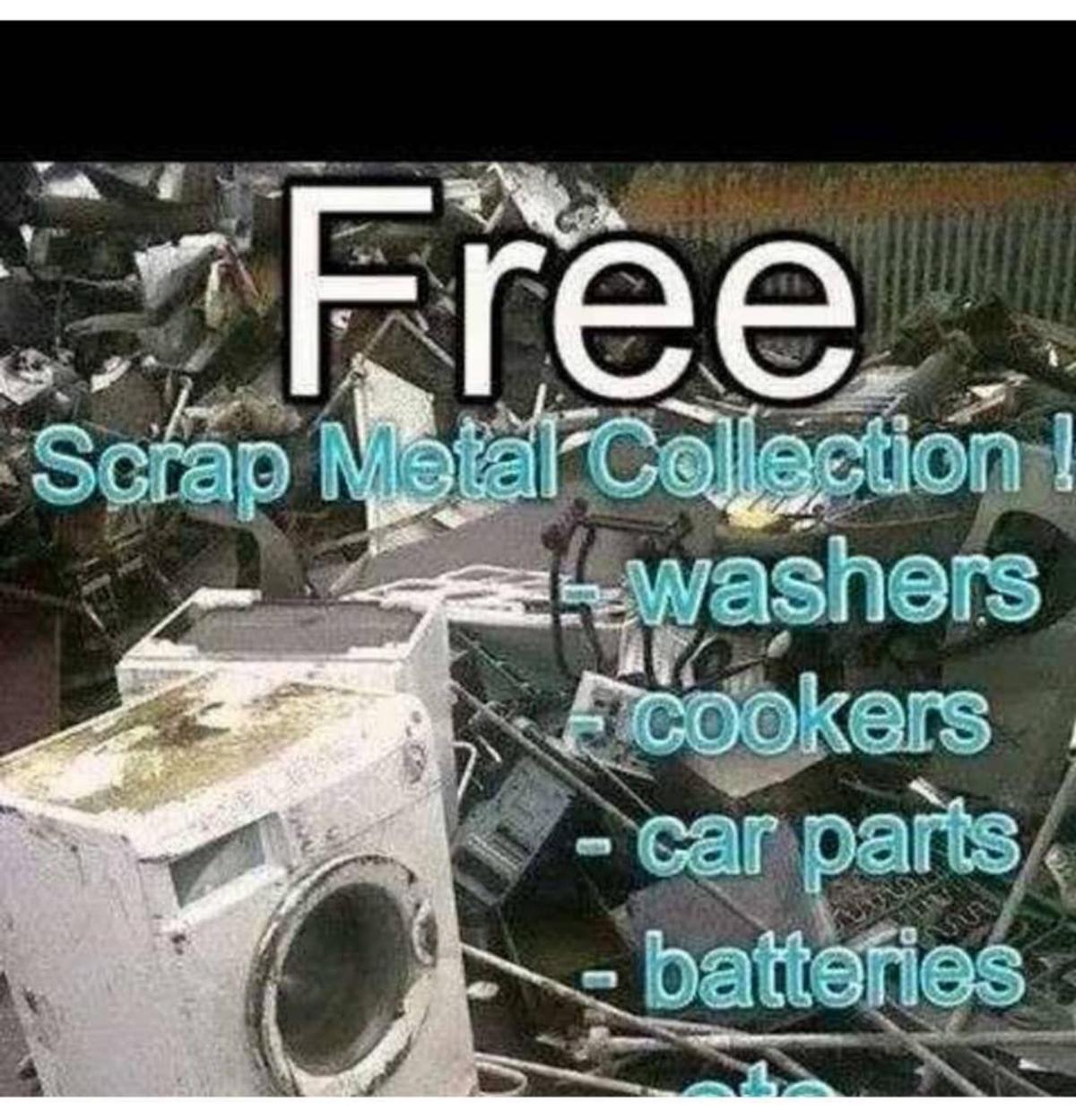 Scrap man metal wanted it in B31 Birmingham for free for