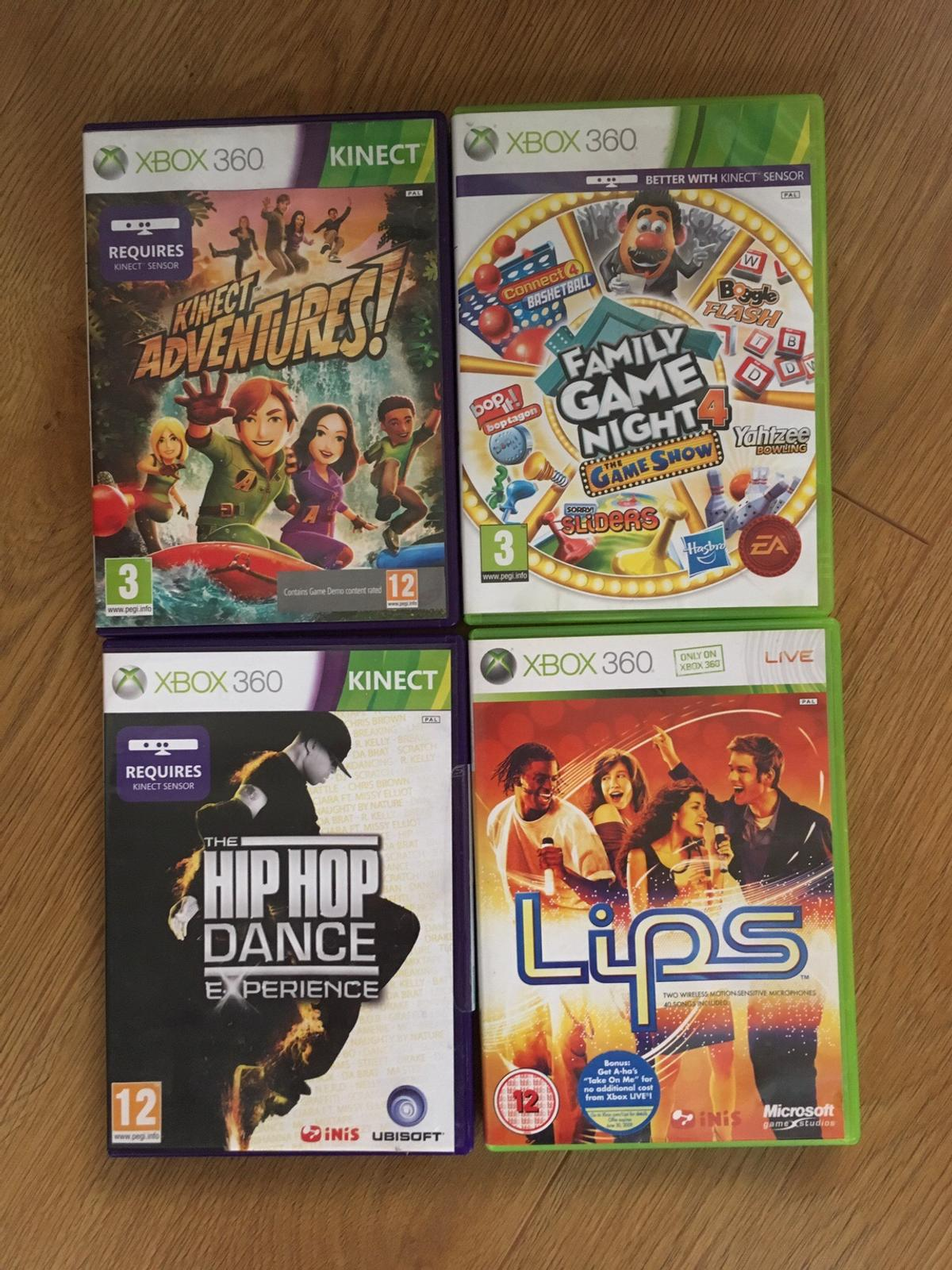 Xbox 360 with 4 Games and Extras in Rotherham for £70 00 for