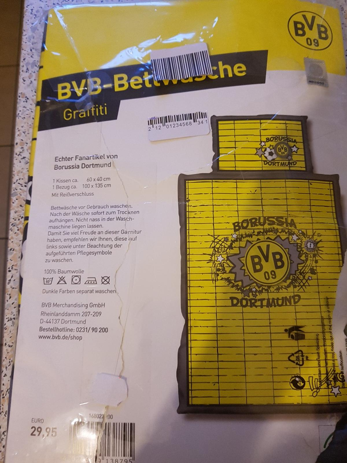 Bvb Baby Bettwäsche In 47059 Duisburg For 1500 For Sale Shpock