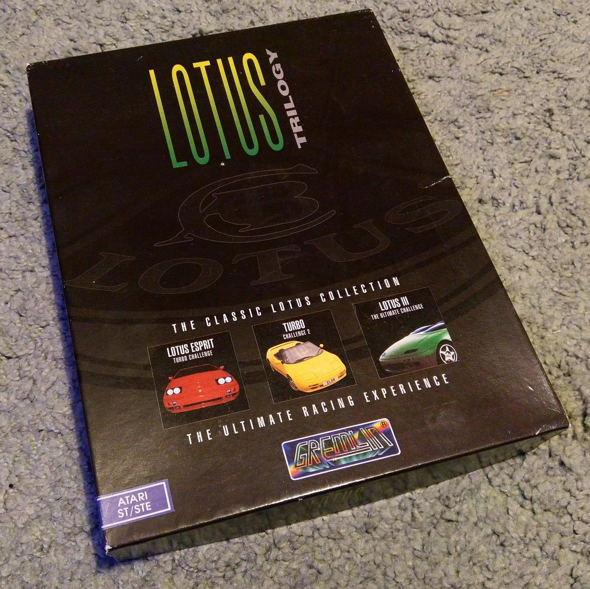 Atari ST Game - The Lotus Trilogy