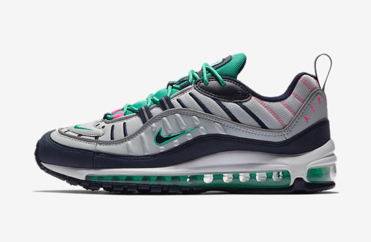 Now Available: Nike Air Max 98 Tidal Wave •