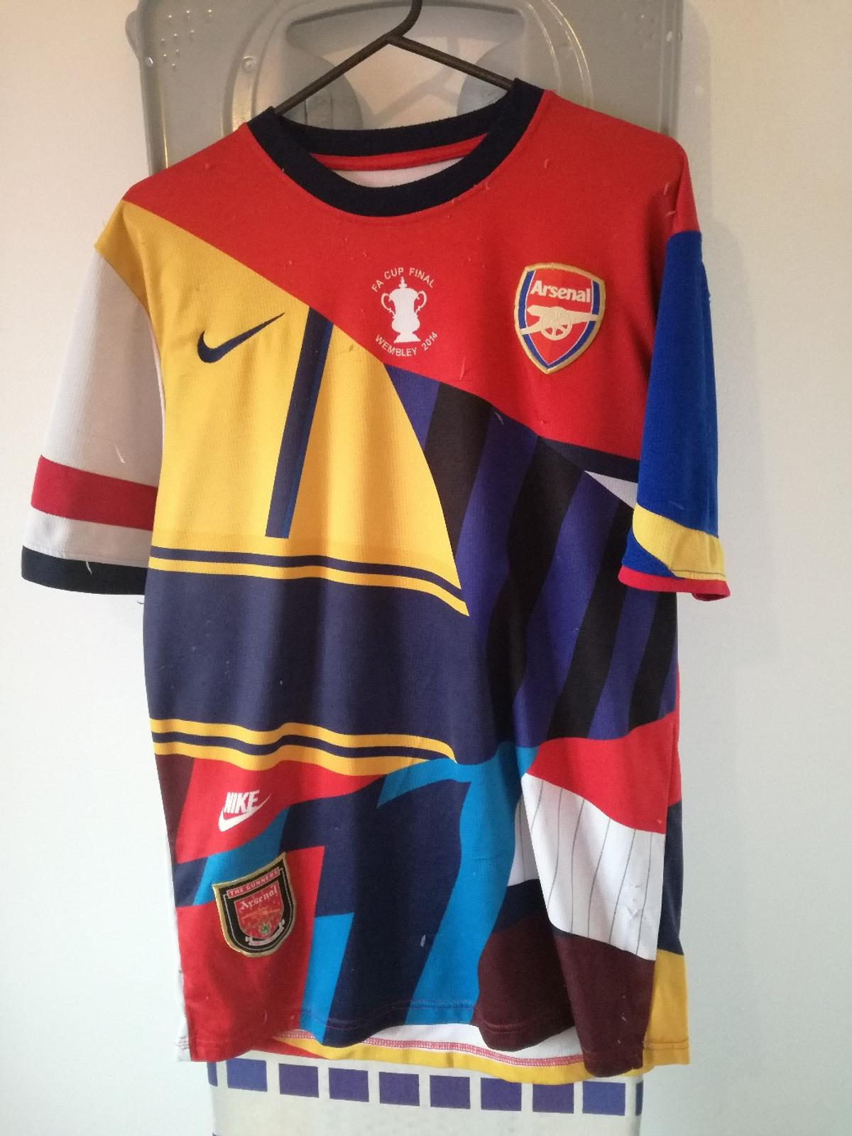 best sneakers c0ef4 f3cd2 Arsenal Football ltd edition shirt in Leicester for £35.00 ...