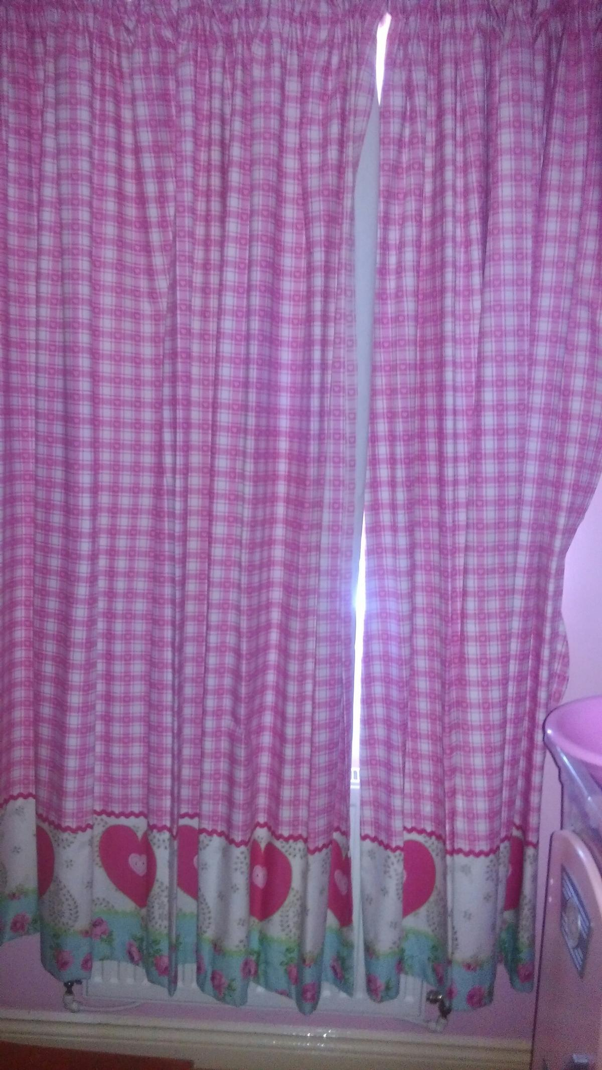 Mothercare Girls Bedroom Curtains