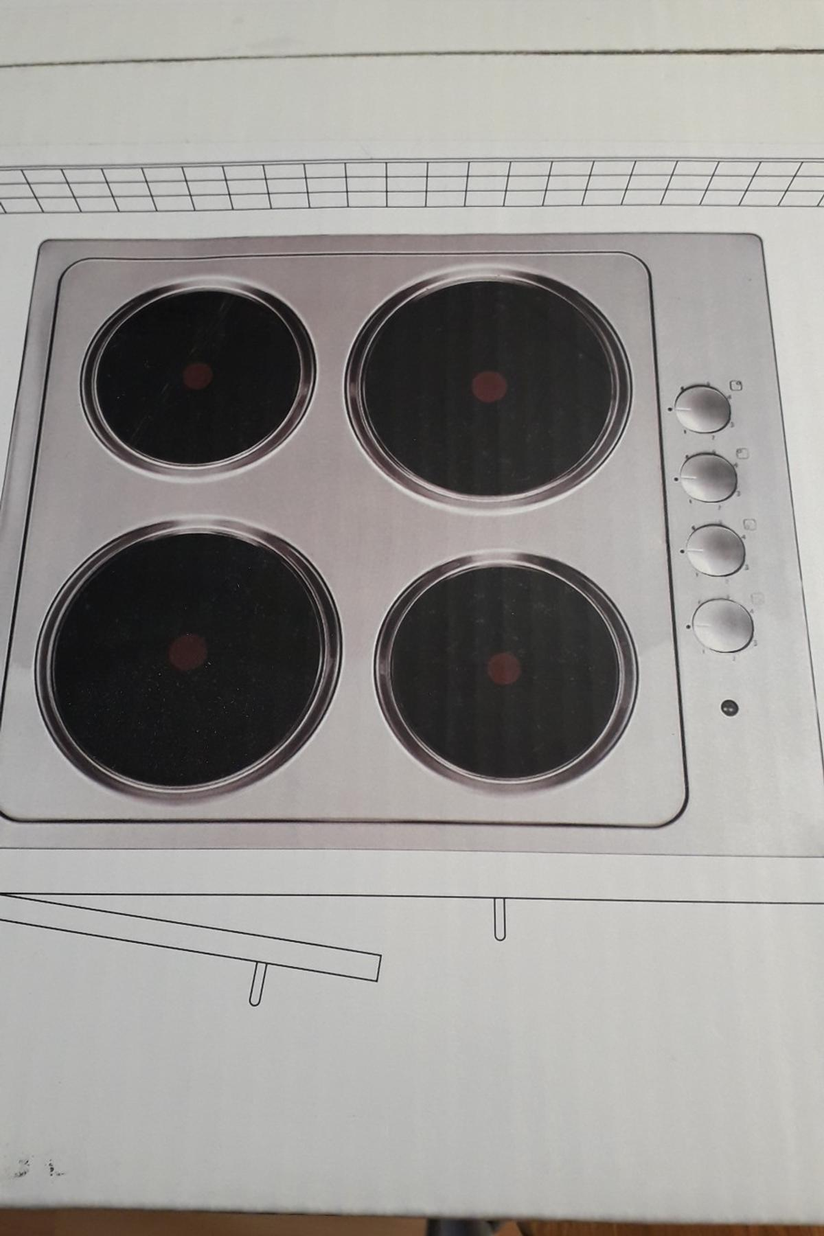 Cooke And Lewis Solid Plate Electric Hob In Bassetlaw For
