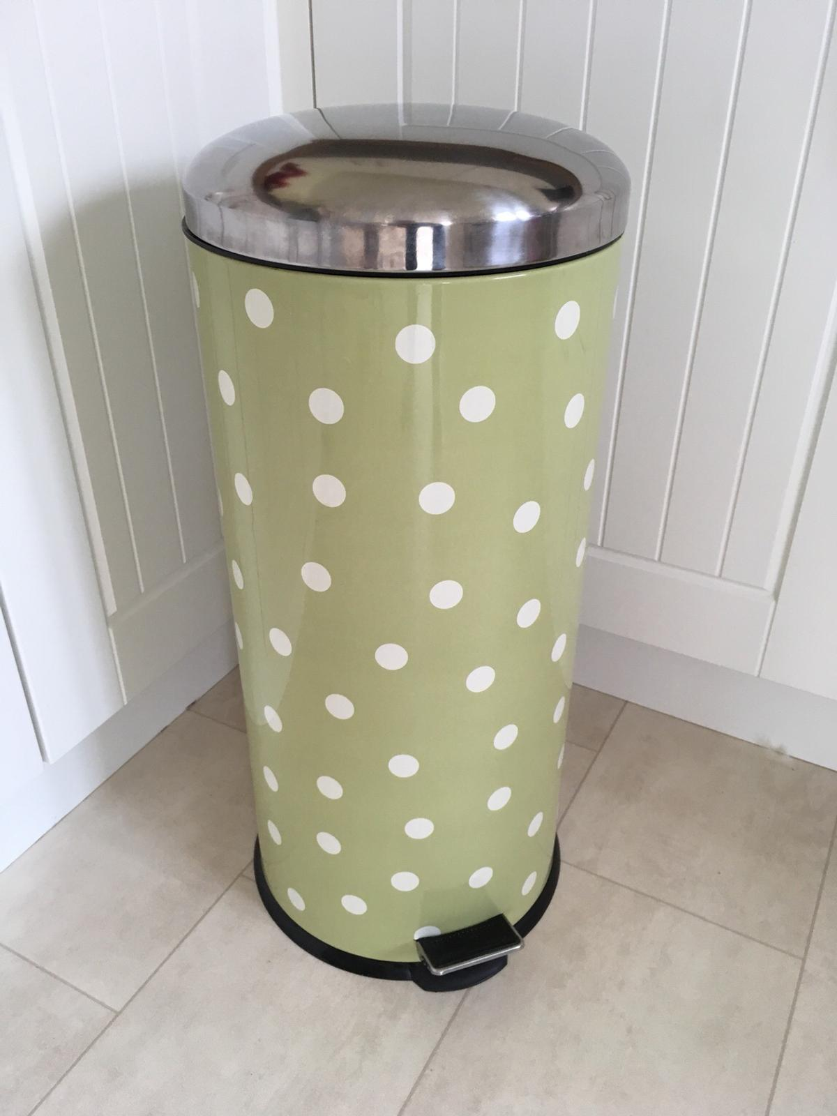 Next Green spotty pedal bin in Shifnal for £10.00 for sale | Shpock