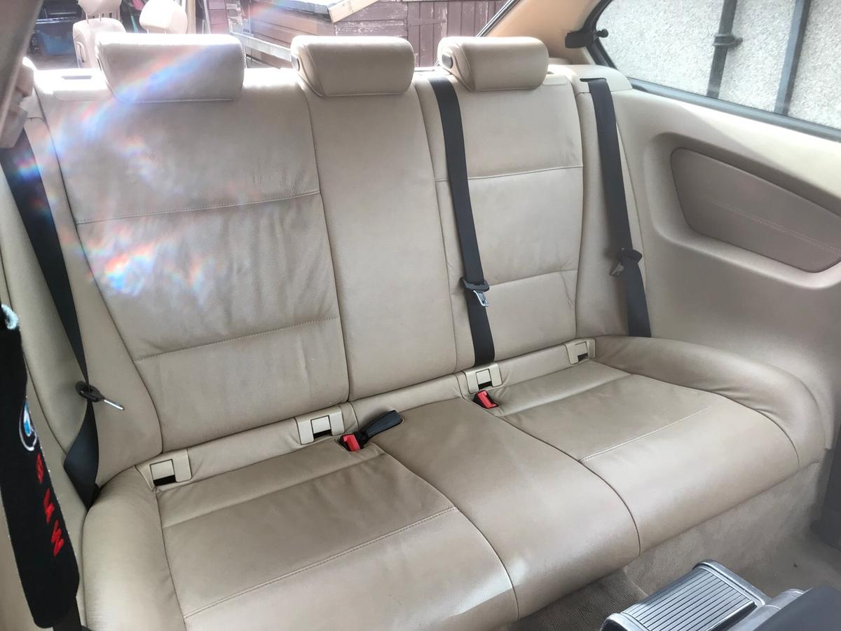 Bmw E46 Compact Cream Leather Interior In Bd19 Kirklees For 1 00 For Sale Shpock