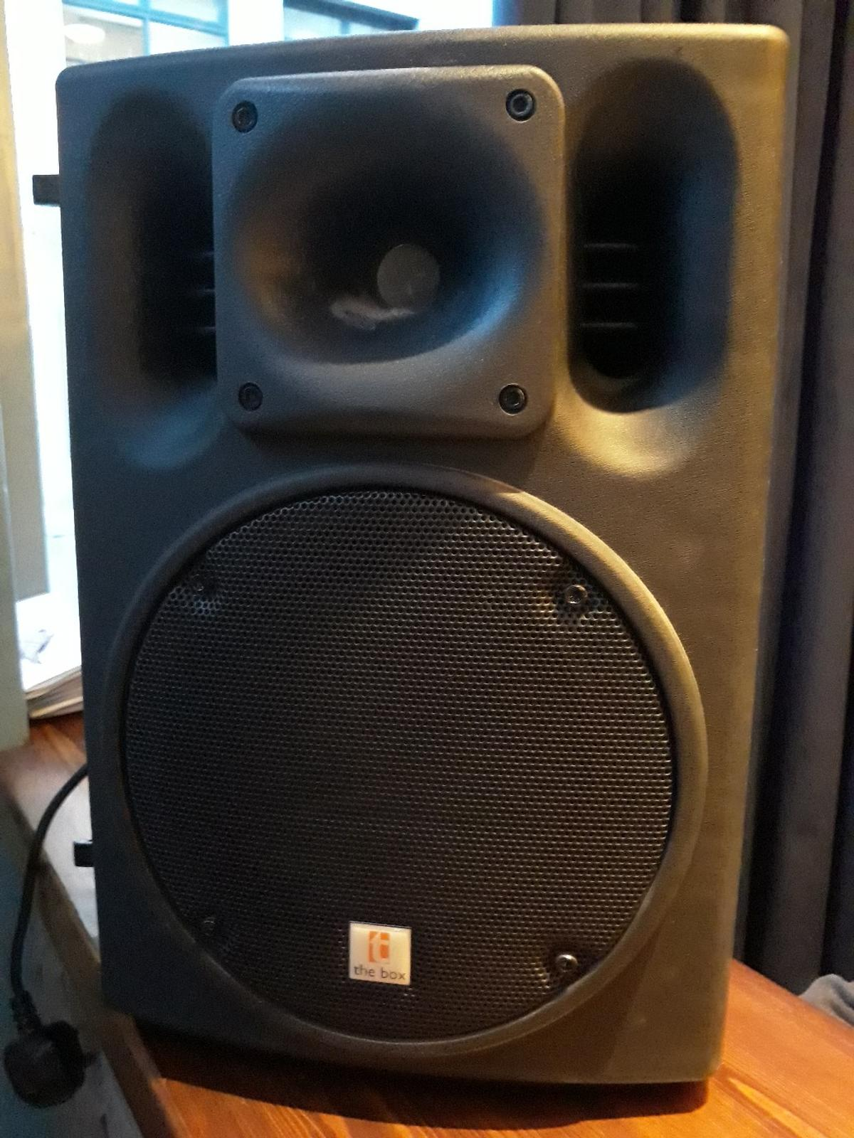 Speaker the box PA108A in W1T London for £65 00 for sale - Shpock
