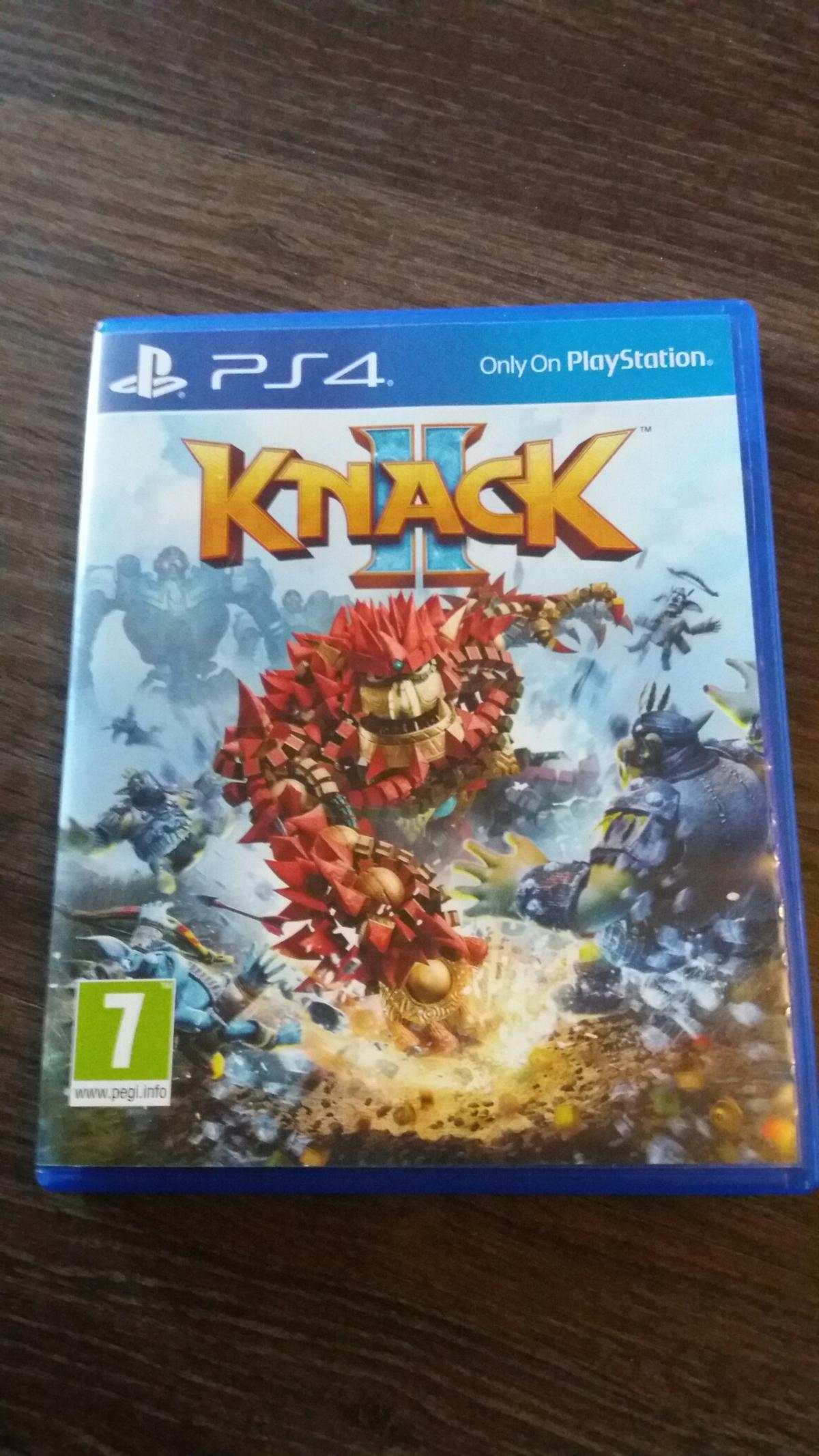 Sony Knack 2 PS4 Includes That's You game