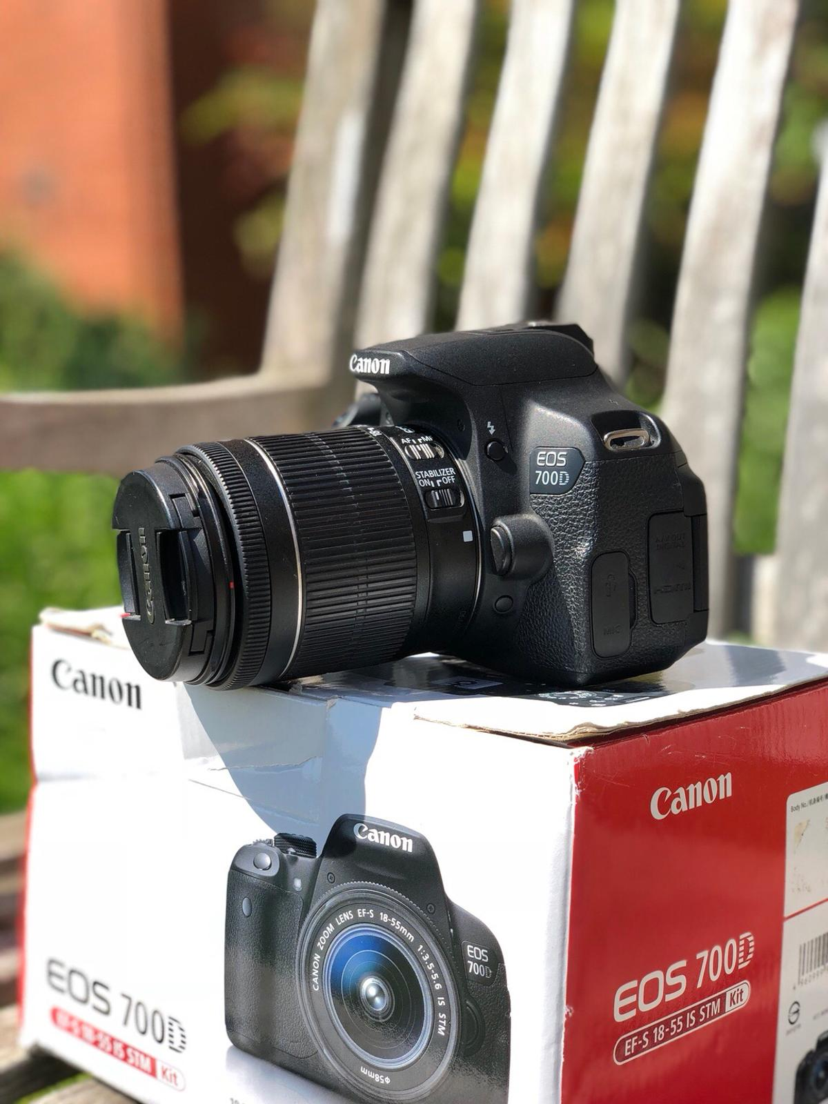 Canon EOS 700D Camera + Lens in SW6 Fulham for £280 00 for