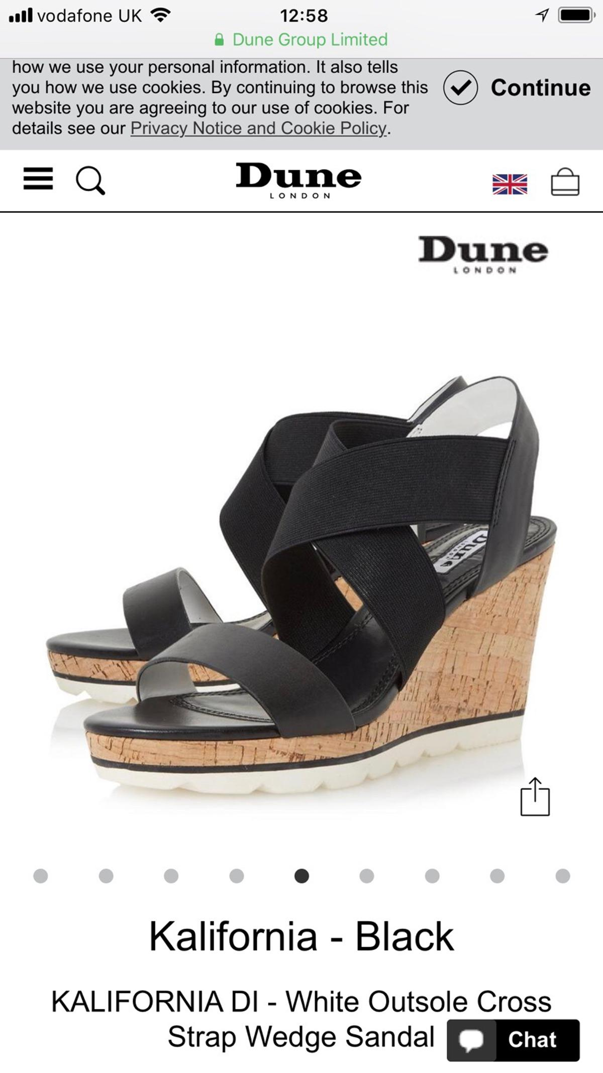 e58a329cc Dune Black Wedges in S1 Sheffield for £25.00 for sale - Shpock