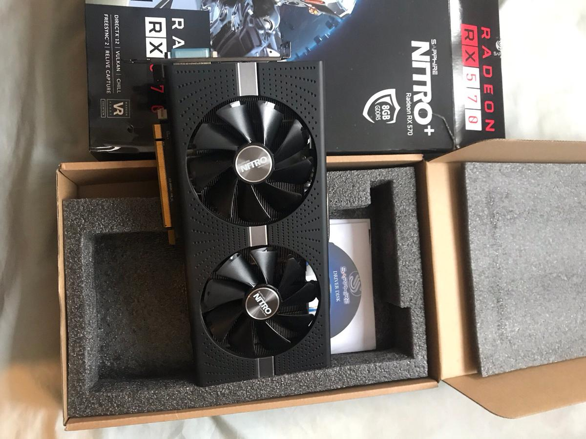 Refurbished AMD RX 570 8GB Graphics Card in B18 Birmingham for