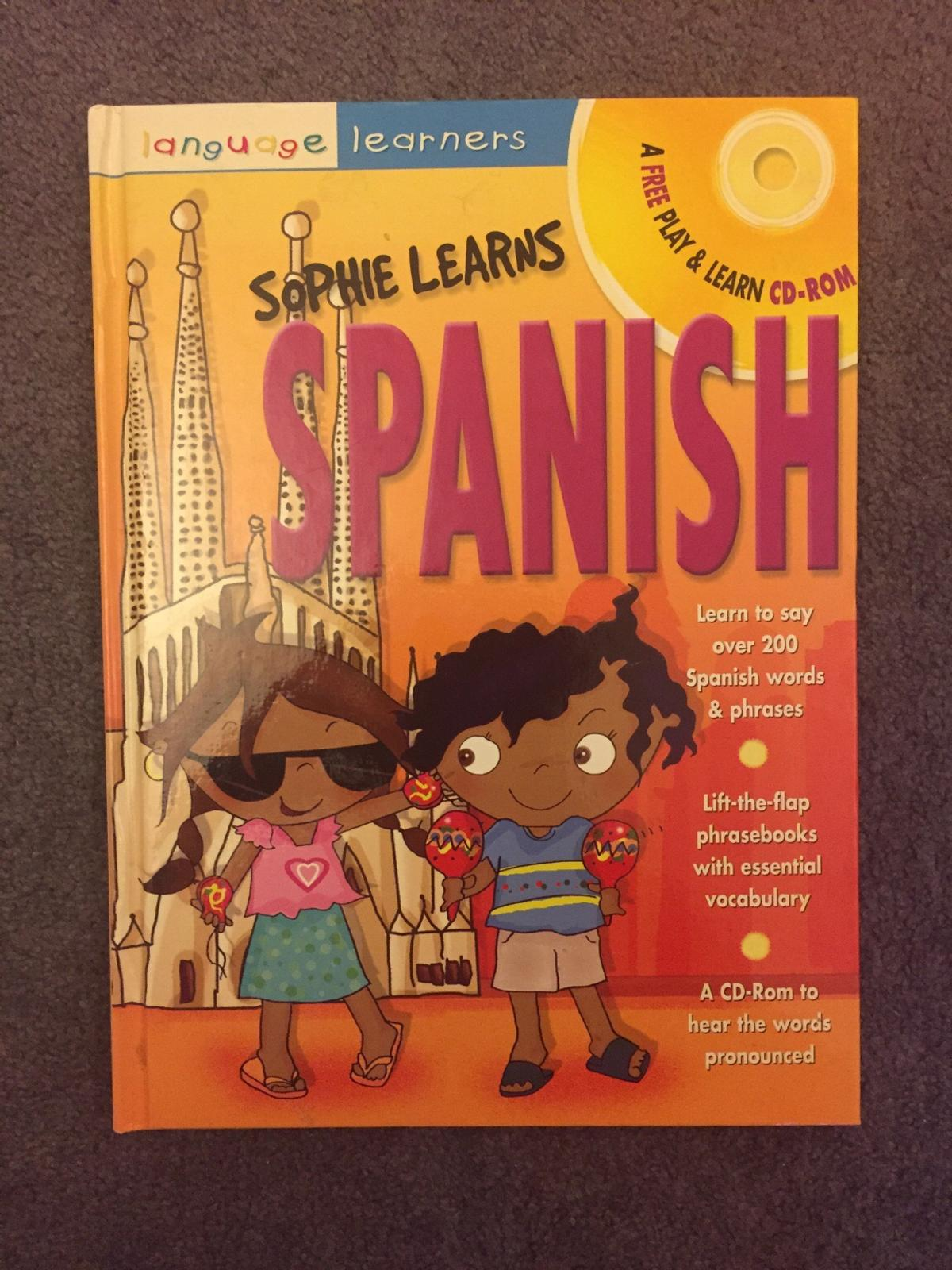 Books for learning English, Spanish, French in BR3 Bromley for £3 00