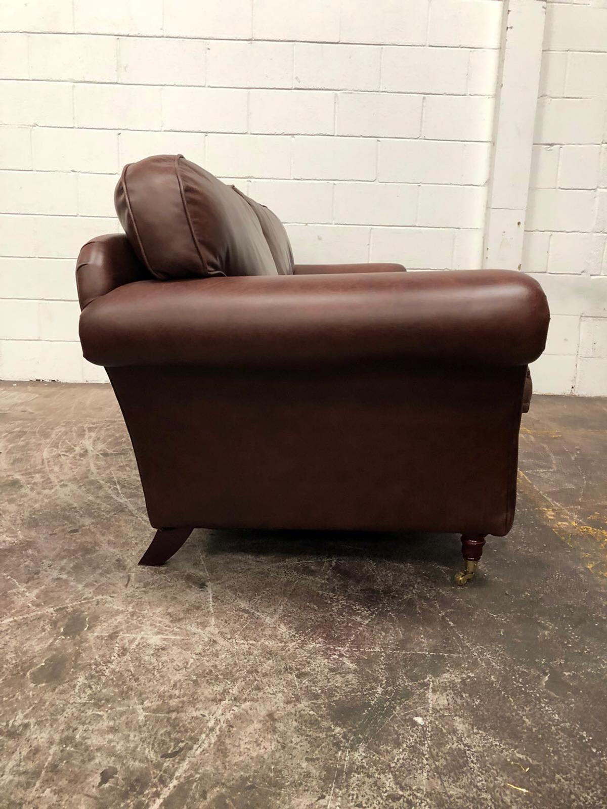 Laura Ashley 3 seater leather sofa in EX15 cullompton for ...