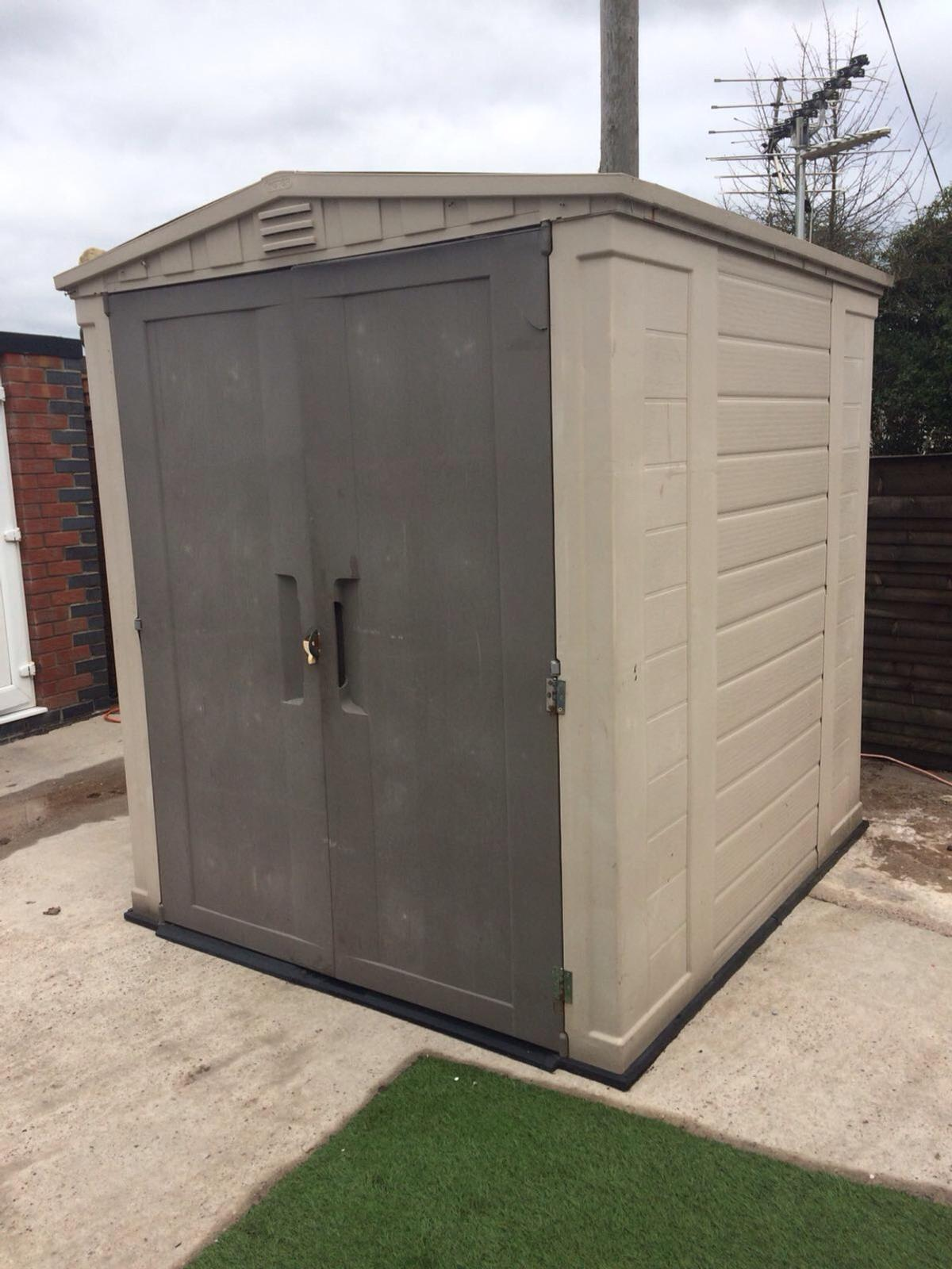 Keter 6x6 Shed 120 In Lancaster For 120 00 For Sale Shpock