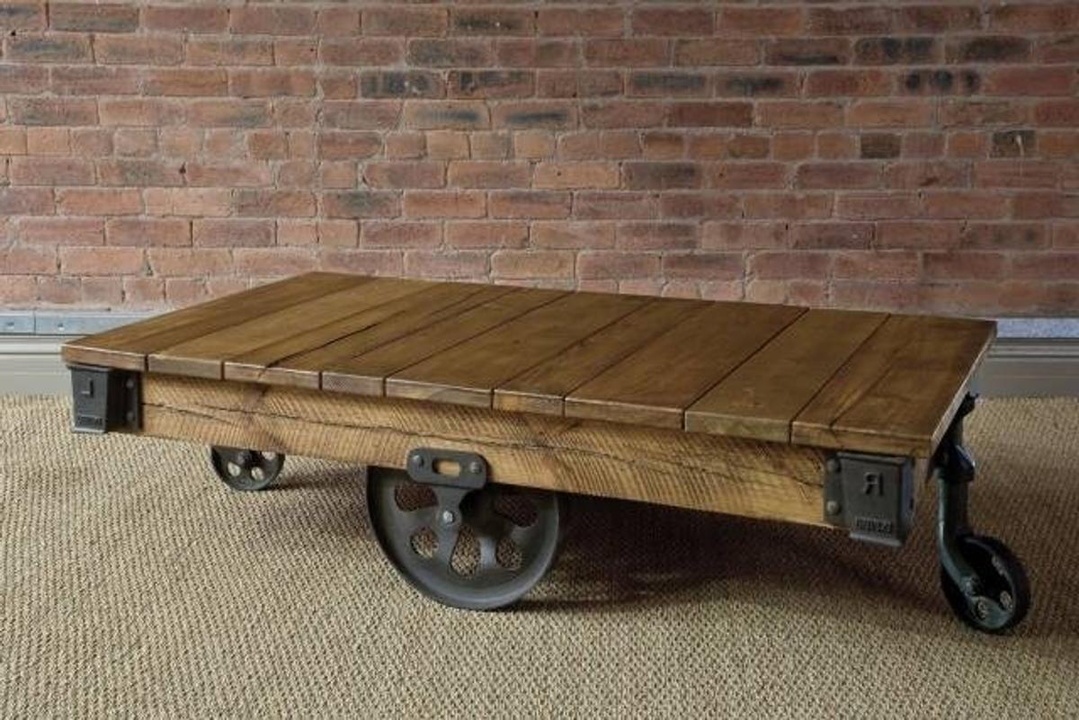 Indigo Mill Cart Coffee Table In Bd22 Craven For 80 00 For Sale Shpock
