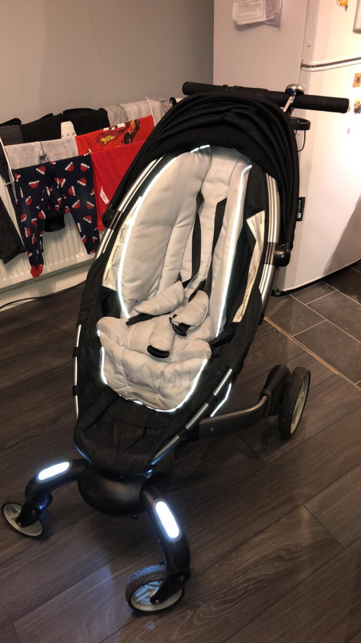 4moms Origami Stroller Review - Techlicious | 2134x1200