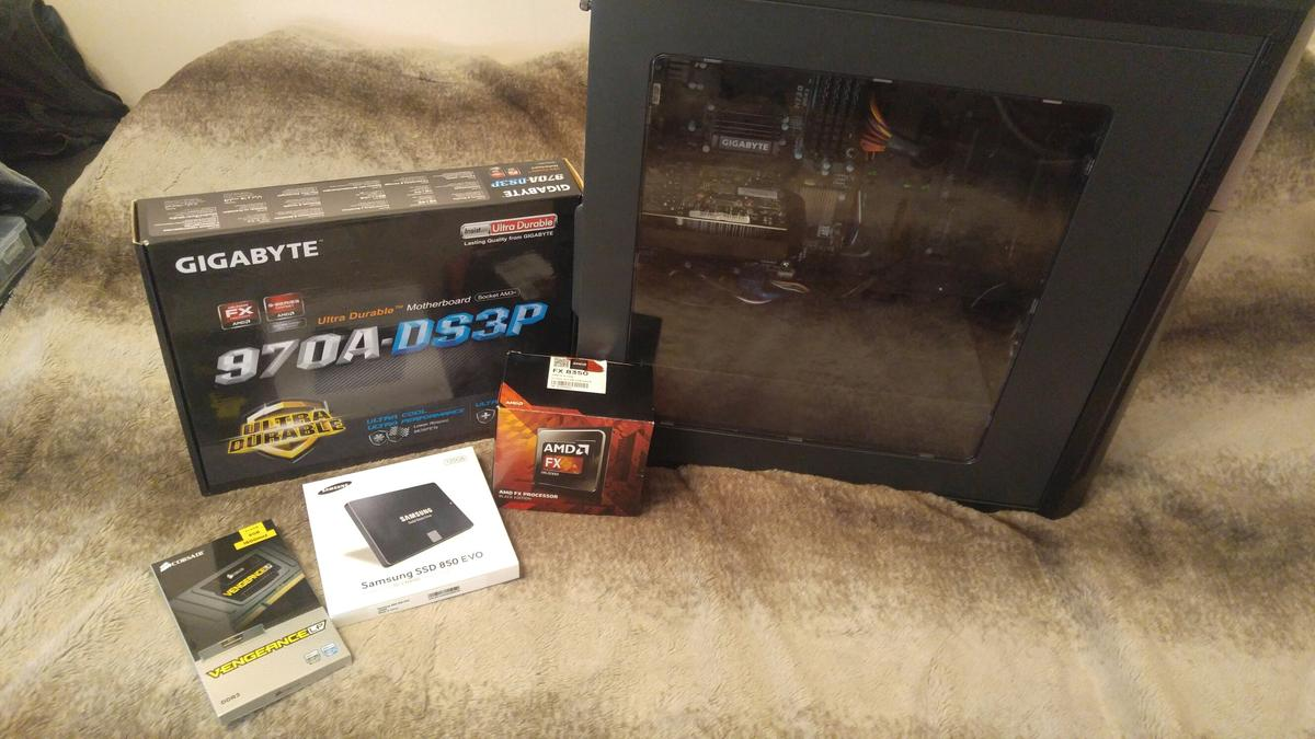 AMD fx 8350 gaming pc! in GU14 Rushmoor for £350 00 for sale