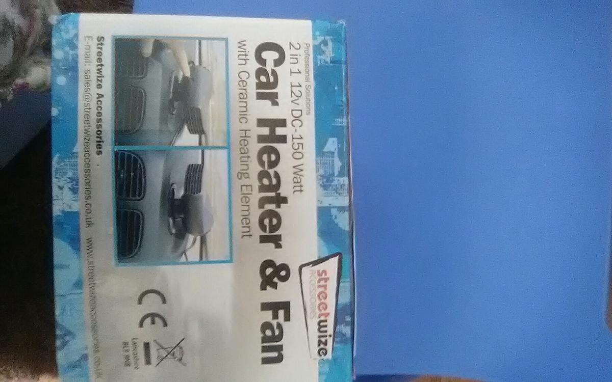 Car fan heater in LE4 Leicester for £5