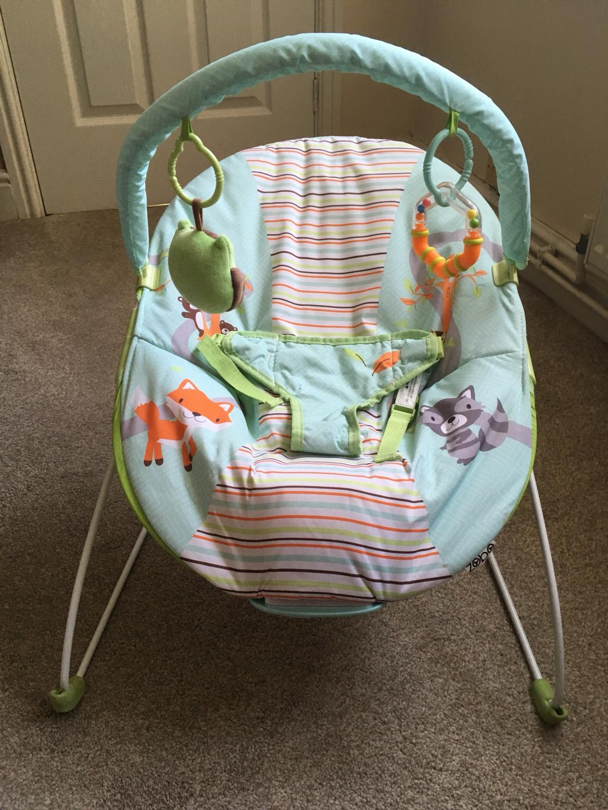e908d17fa Zobo Woodland Friends Baby Bouncer in B69 Sandwell for £3.00 for ...