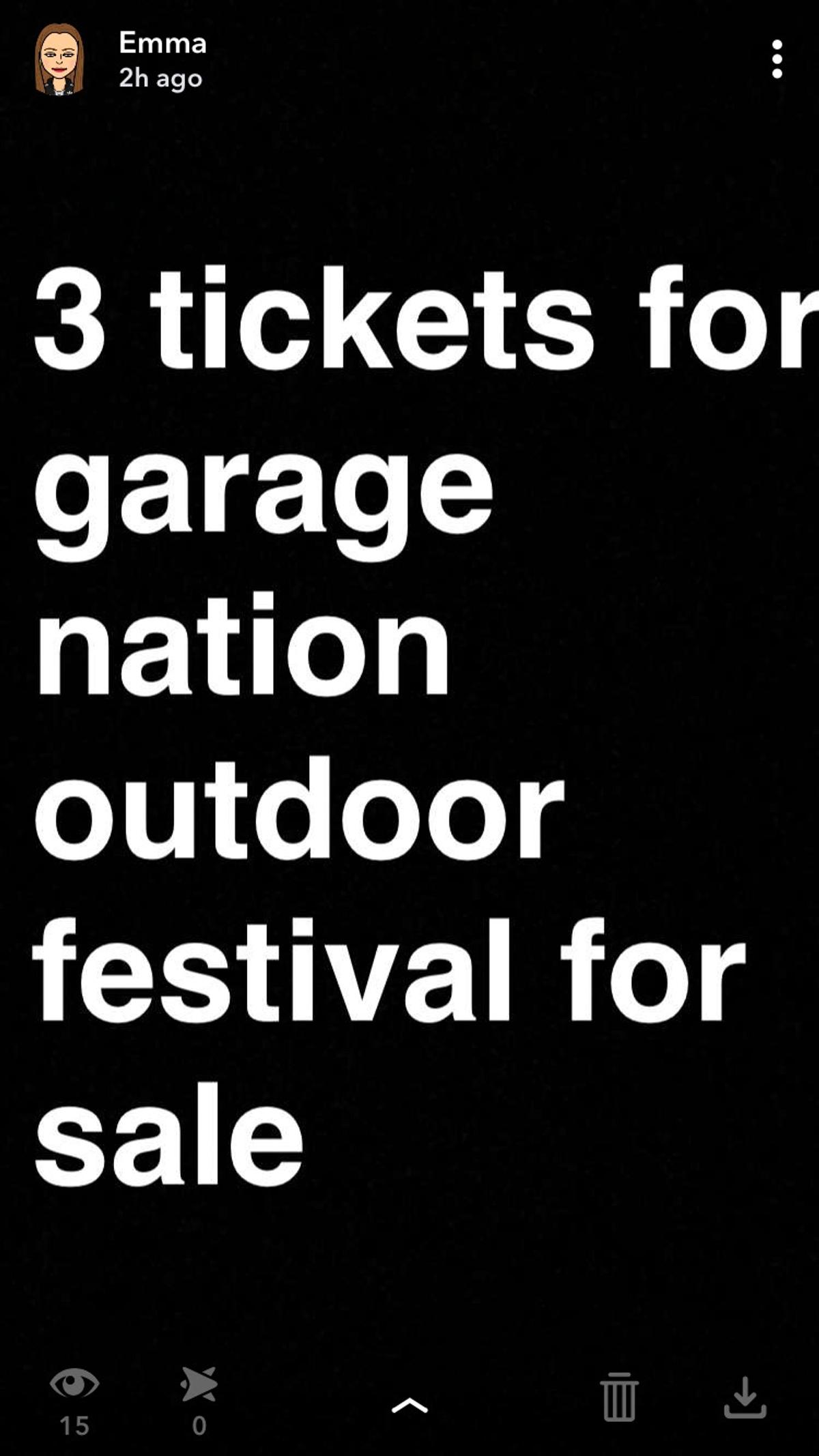 Outdoor Garage Nation Festival In Tw4 Thames For 45 00 For Sale
