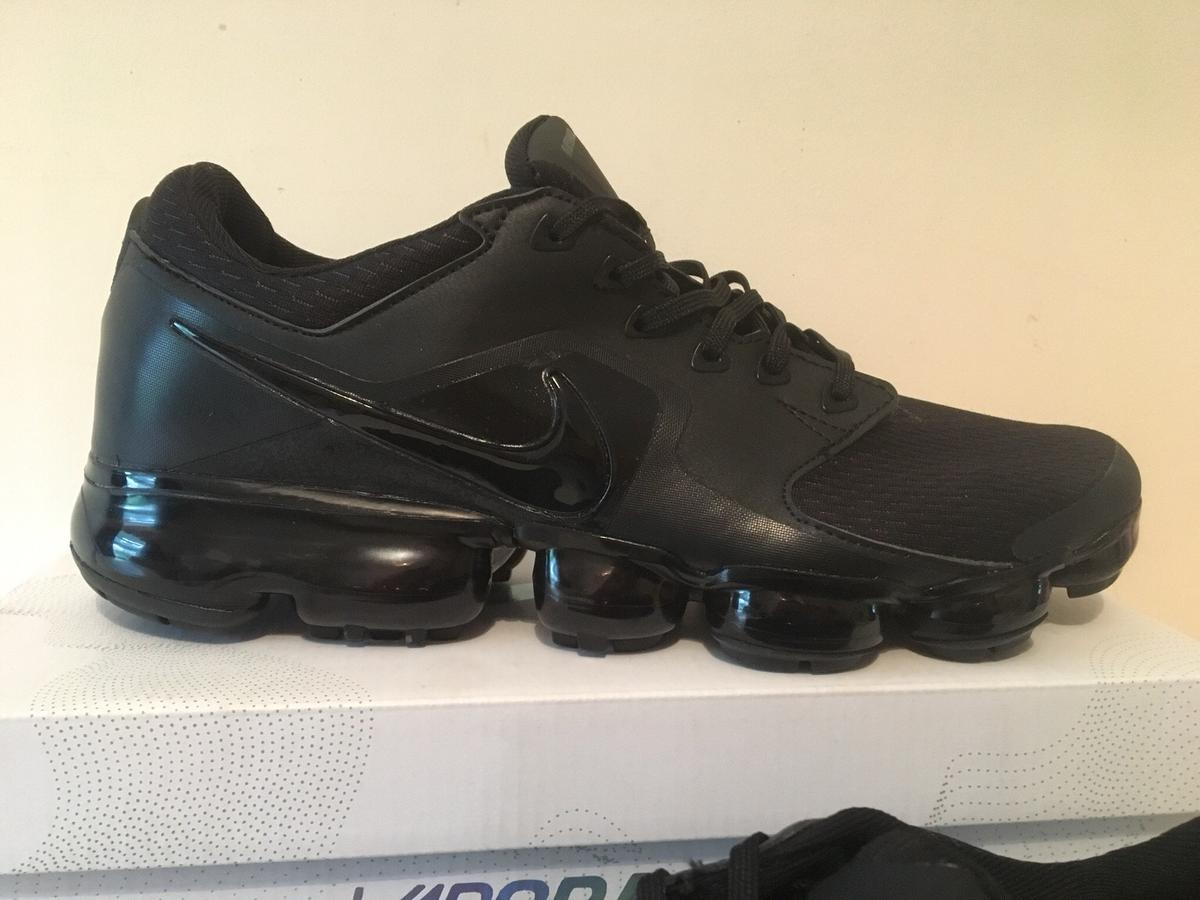 online store c7c62 95935 Nike vapormax vm trainers all Black New in Ashfield for ...