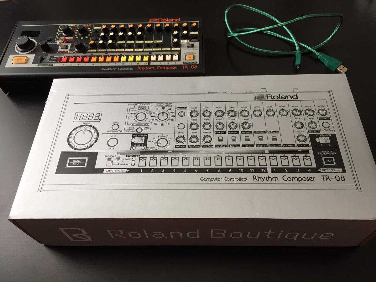 ROLAND TR-08 + ROLAND USB-Kabel in 1040 Wien for €270 00 for