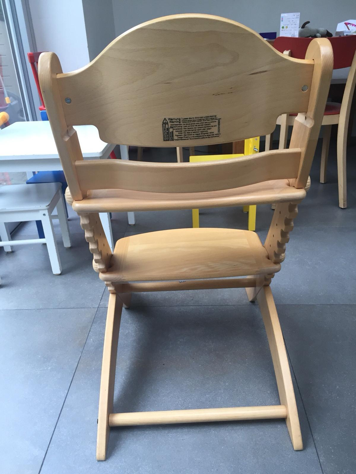 Geuther swing adjustable wooden high chair in SW15
