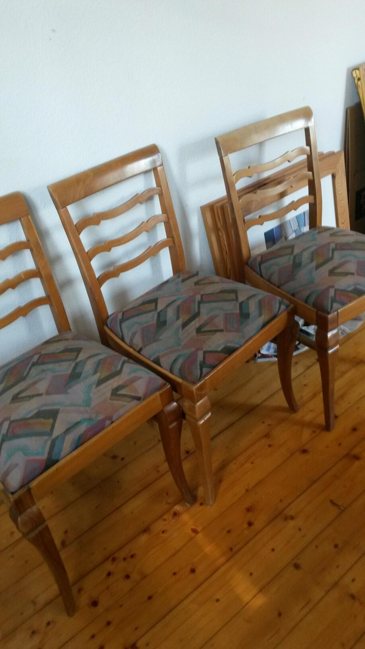 3 Schone Alte Stuhle Ideal Fur Shabby Chic In 51381 Lutzenkirchen For 10 00 For Sale Shpock