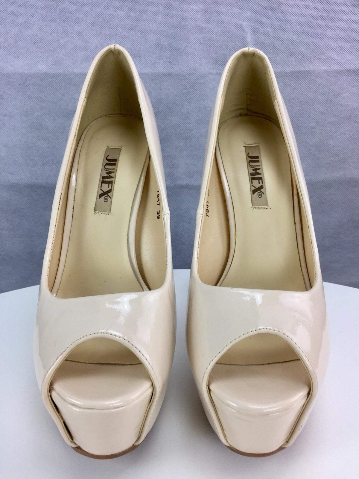 930e3f1a41f54f JUMEX Nude High Heels PEEPTOES PUMPS Gr. 39 in 85119 Ernsgaden for ...