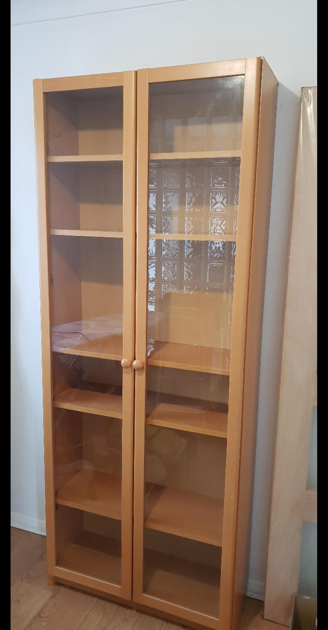 Ikea Billy Bookcase With Glass Doors In Rm16 South Ockendon
