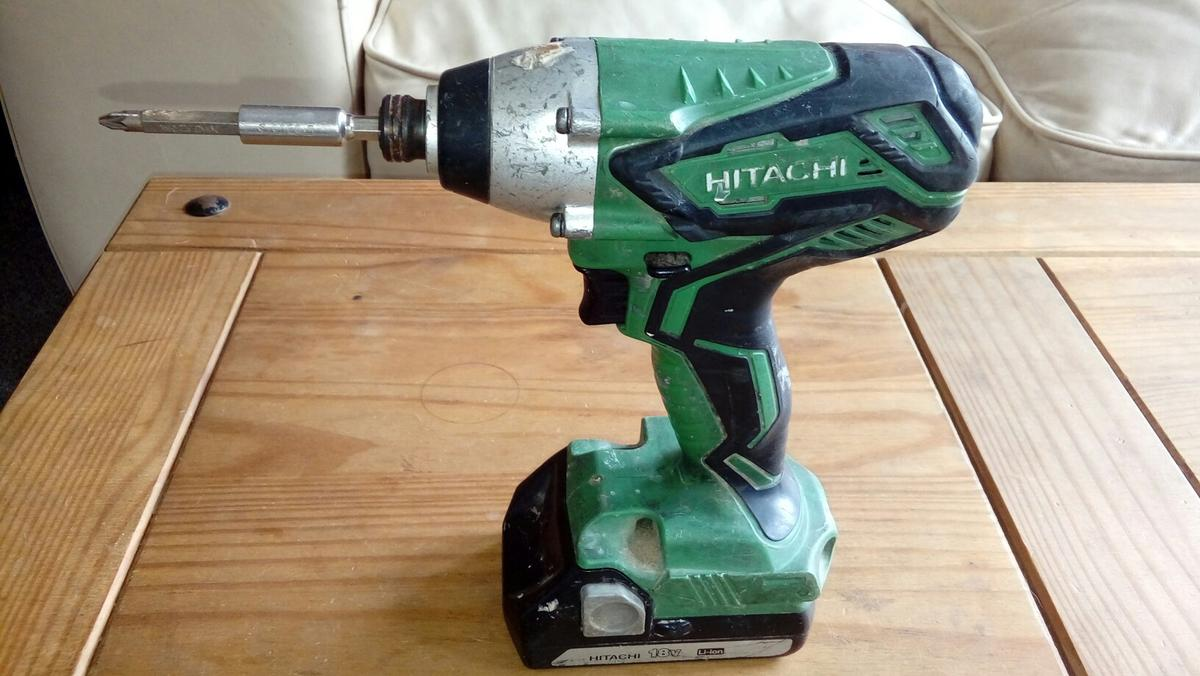 Hitachi 18v Cordless Impact Driver Wh 18dgl In S2 Sheffield For 15 00 Shpock