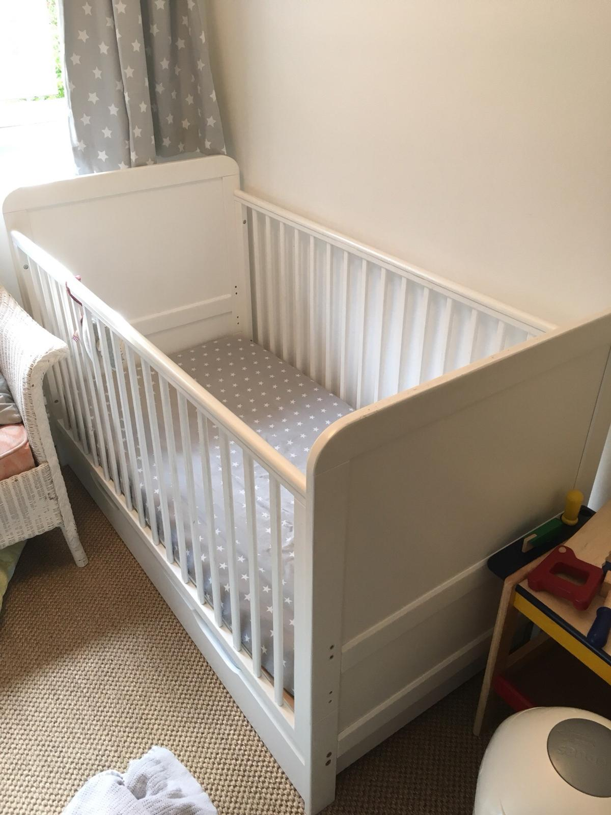 quality design 0016c 15d5e John Lewis Cot bed converts to toddler bed