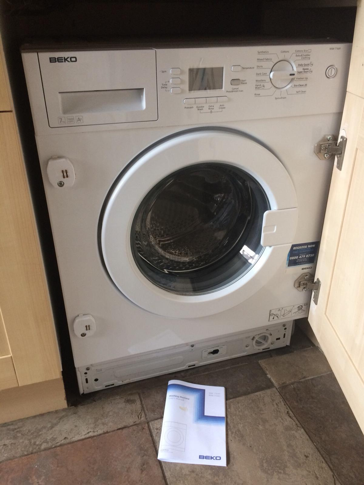 Washing Machine BEKO WMI 71641 7kg in DE24 South Derbyshire