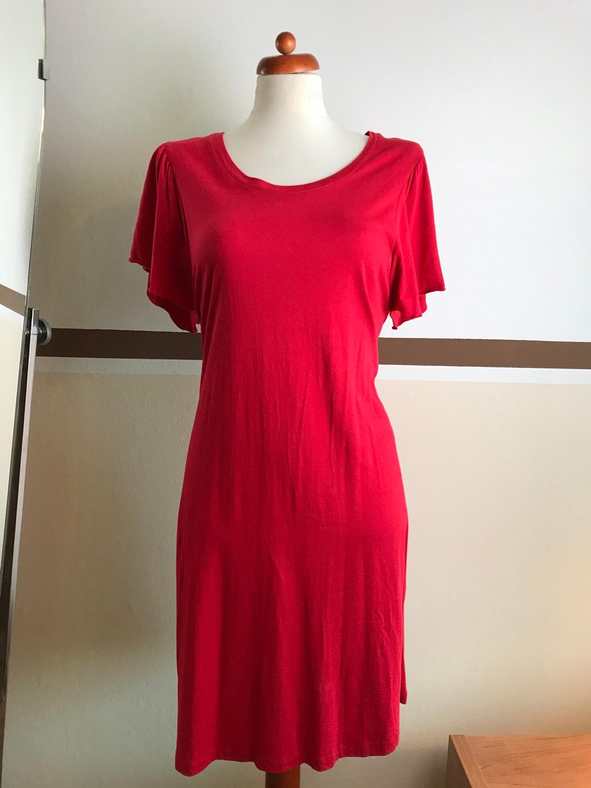 madeleine privacy rotes kleid gr. 42 wneu !!! in 13589