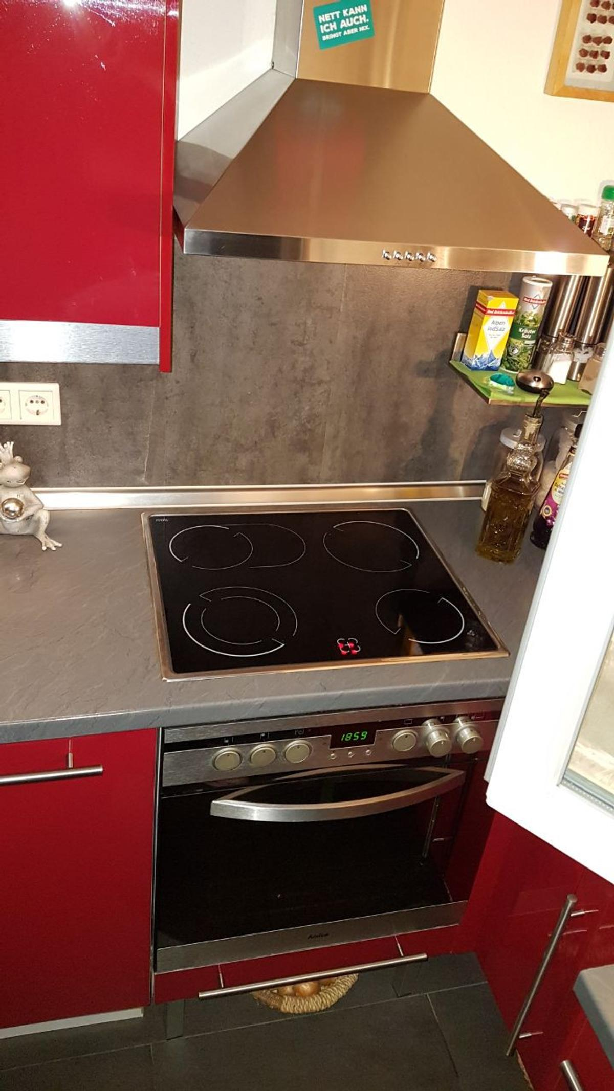Ikea Kuche Hochglanz Rot In 42279 Wuppertal For 1 150 00 For Sale