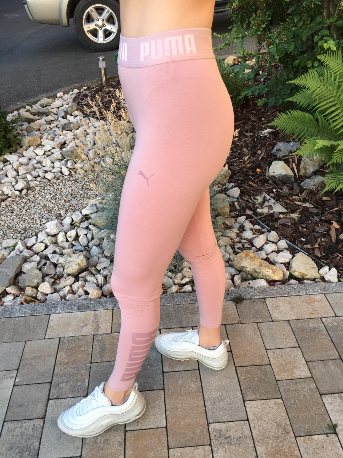 Tercero Birmania rango  Puma leggings rosa Größe S in 97074 Würzburg for €15.00 for sale | Shpock