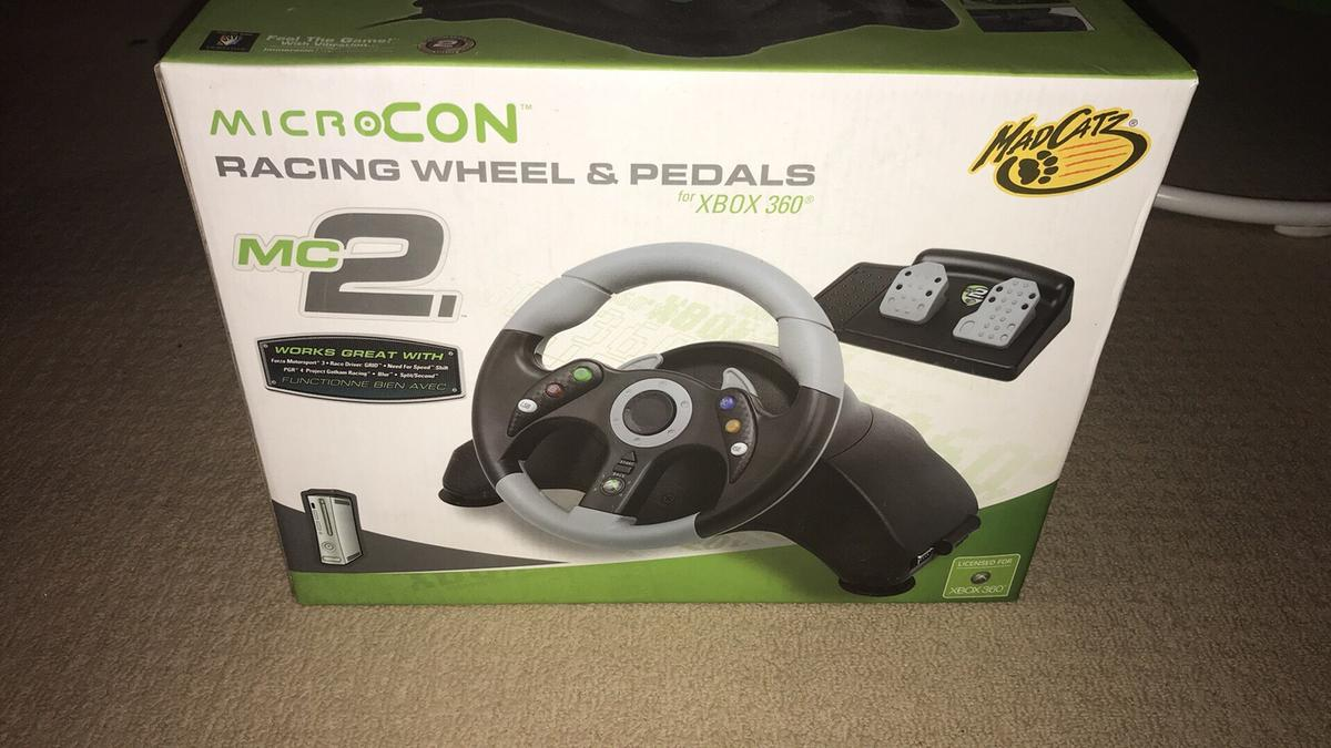 50416e5dda0 Racing wheel & pedal for Xbox 360 in B68 Sandwell for £15.00 for ...