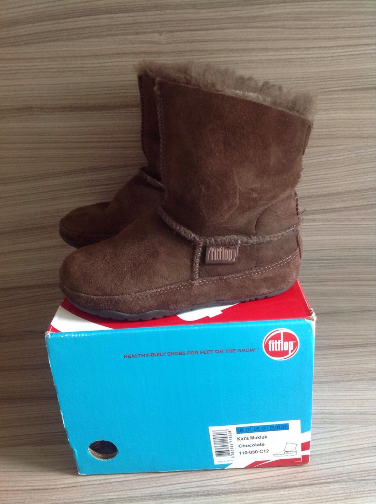 3d7118f00 Girls Fitflop UK 12 Brown Suede Boots in LE16 Harborough for £6.00 ...