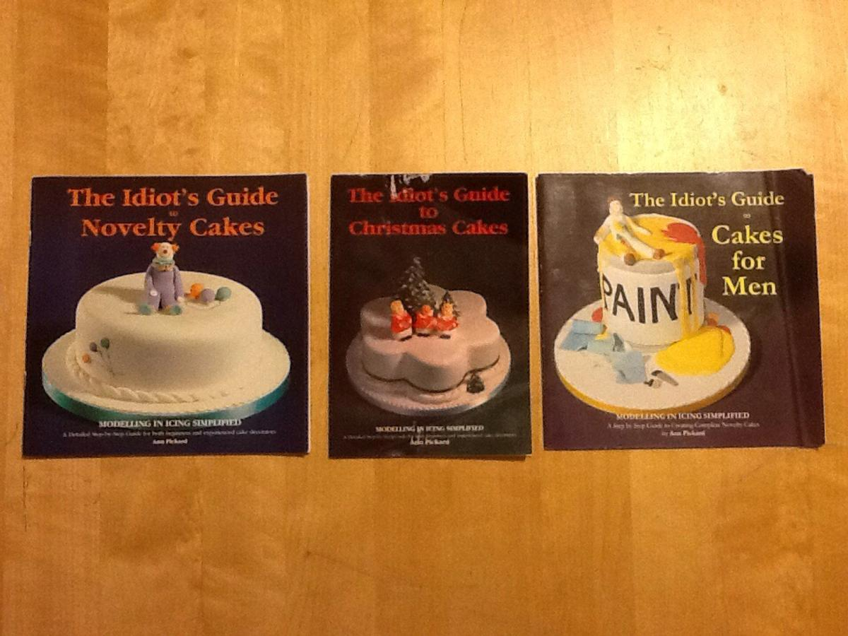 Beschreibung The Idiots Guide To Novelty Cakes