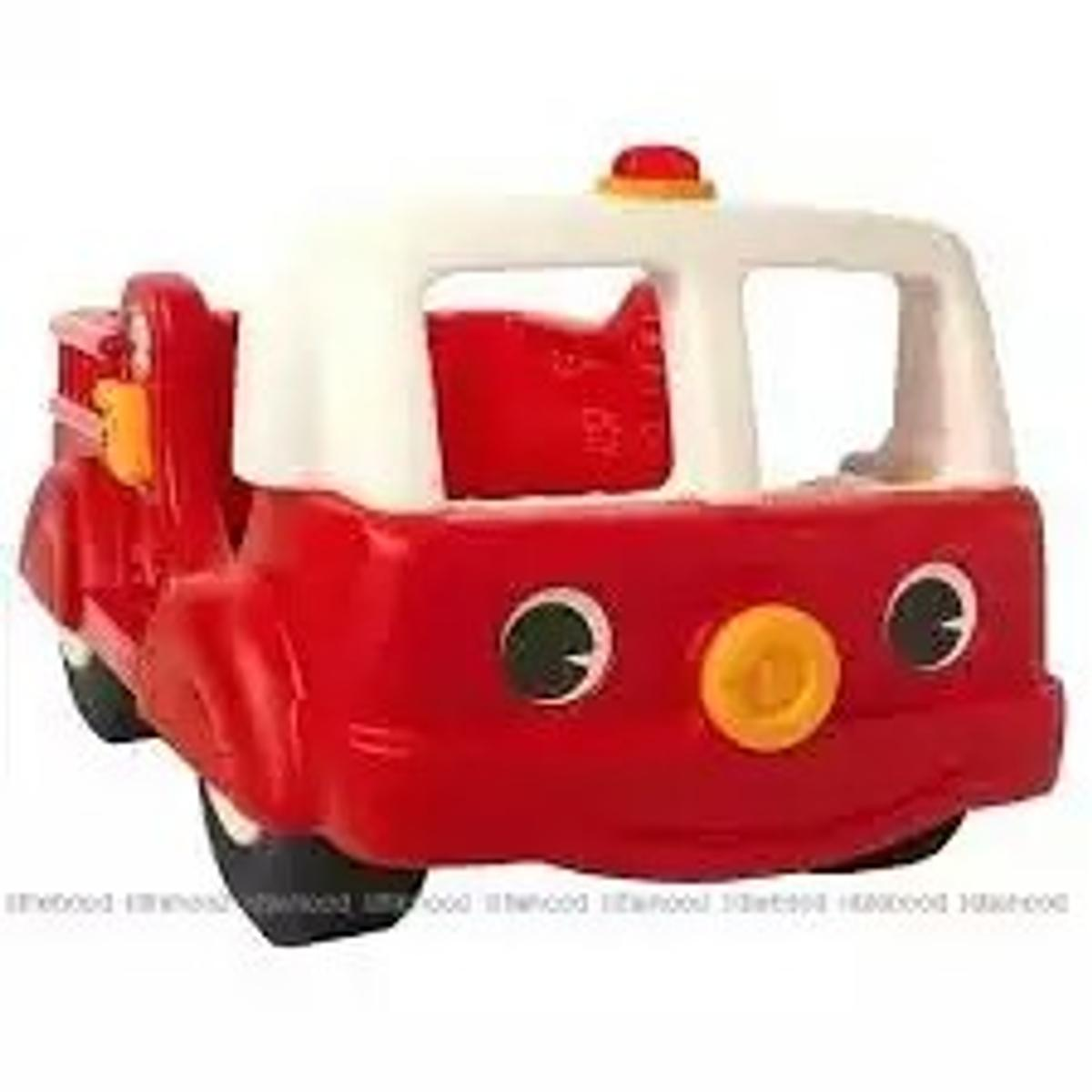 Fire Engine Toddler Bed.Plastic Fire Engine Bed