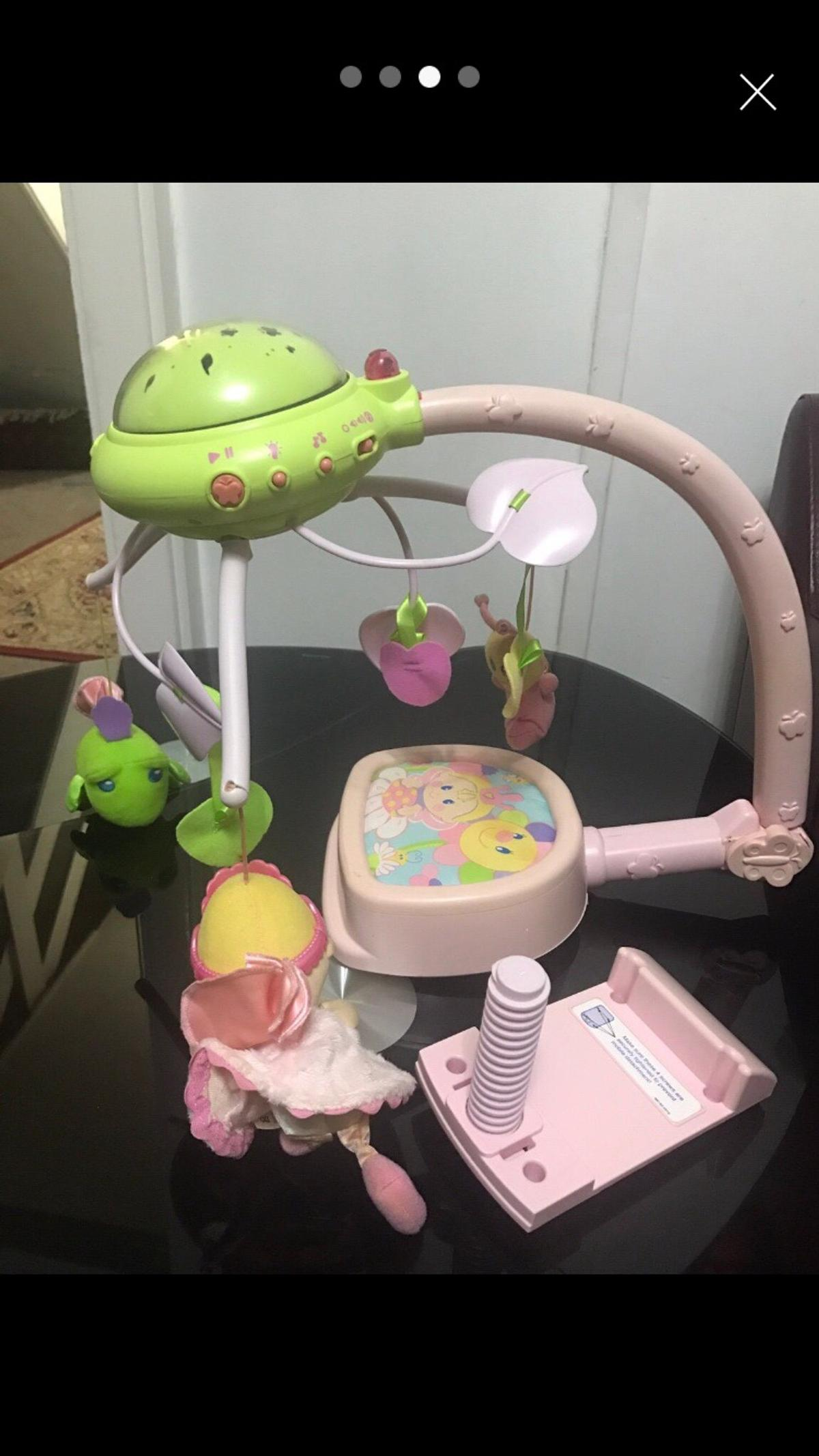 Fisher Price Perfectly Pink Cot Mobile In Sw17 Wandsworth