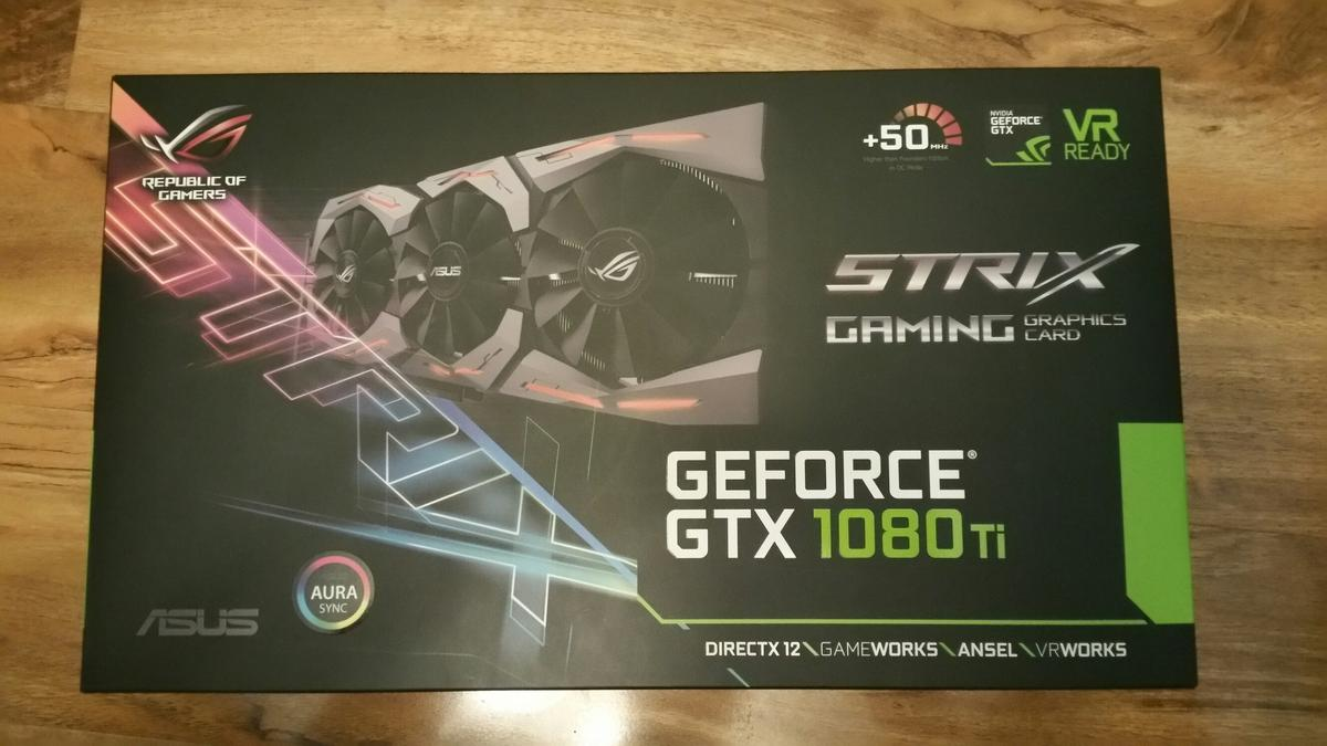 Graphics Card Asus Geforce Gtx 1080ti in WD18 Watford for