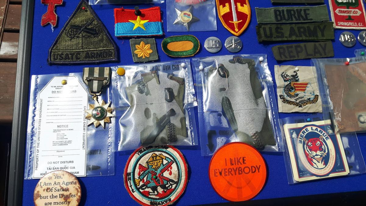 Vintage us army badges and patches in ME15 Maidstone for