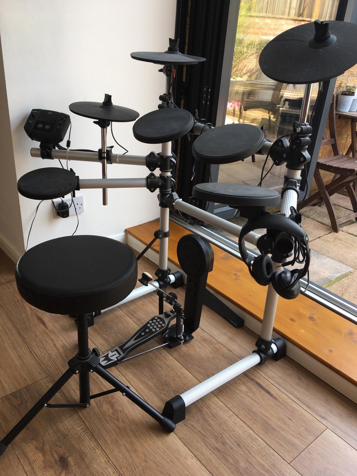 Session Pro DD405D electronic drum kit in BA3 Norton for
