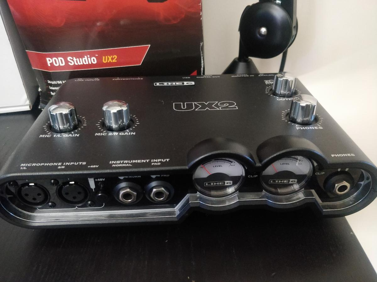 Audio Technica At2035 line 6 UX2 Rode PSA1 in TF1 Wellington