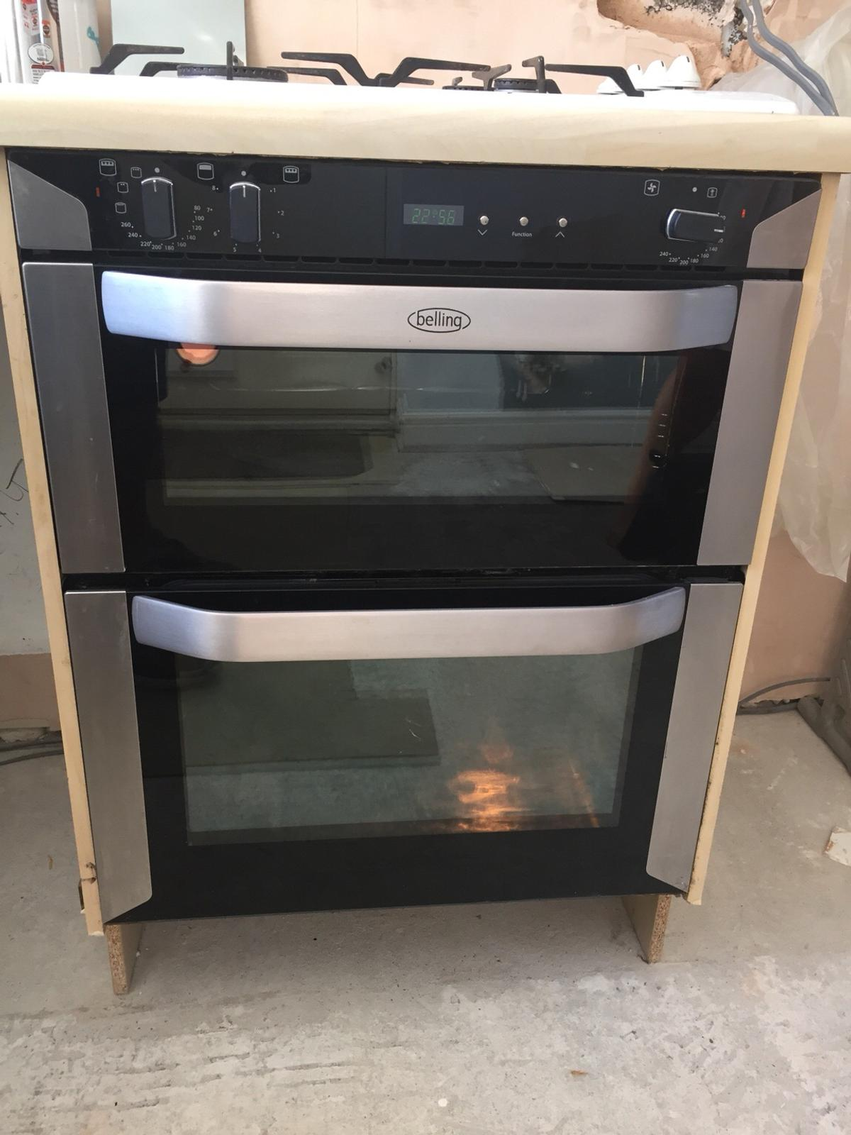 Belling Electric Double Oven In Sk2