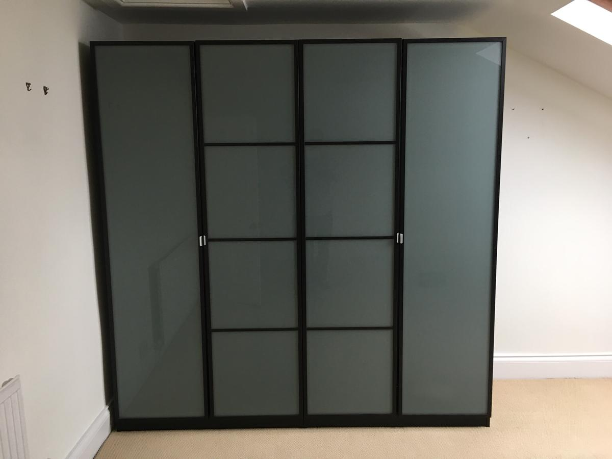 low priced e2bc0 02bc8 Pax Wardrobes with Frosted Glass Doors in W12 London for ...