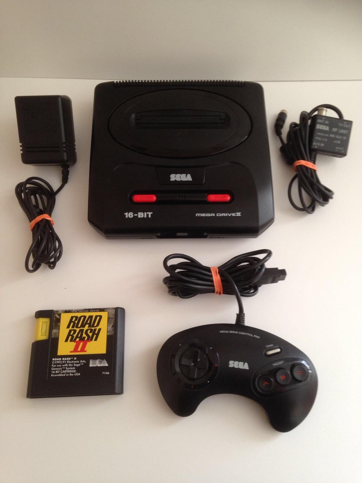 Rare Sega Action chair Sega Megadrive 2 console All cables One controller Road Rash 2 cartridge only All Fully Working £100 ONO