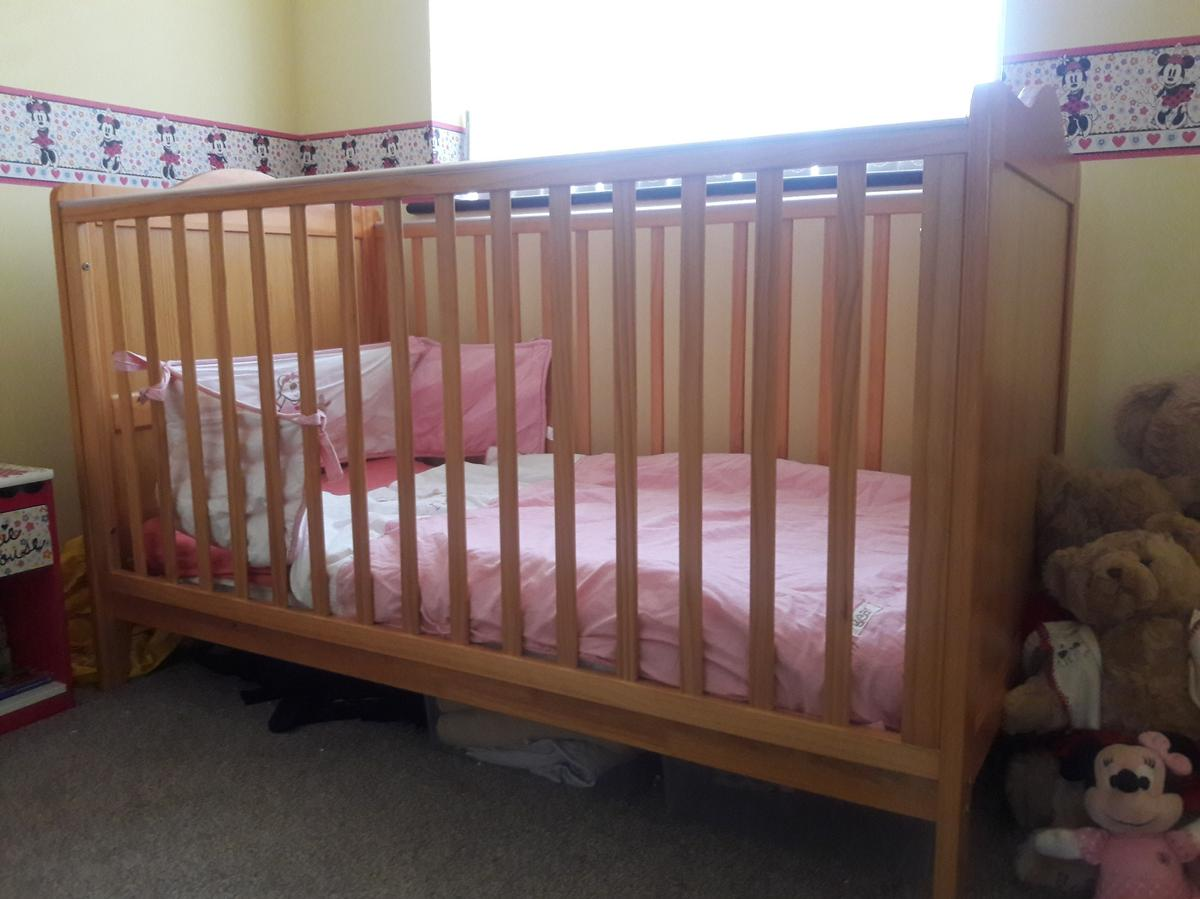 designer fashion 15572 ff042 Babies R Us pine Richmond Cot bed in B63 Dudley for £15.00 ...