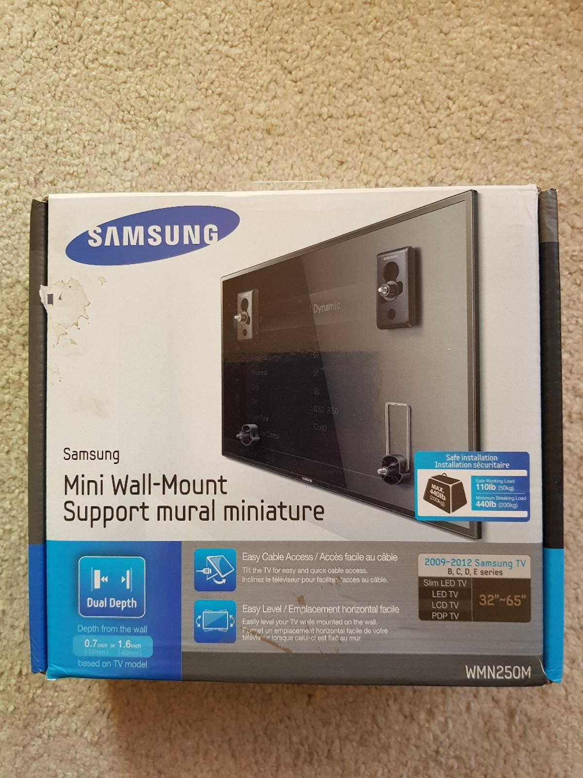 Samsung wall-mount in LE18 Oadby and Wigston for £10 00 for sale